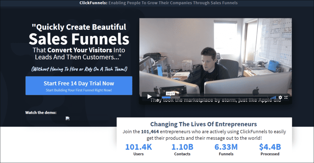 What Does Clickfunnels/Com Do