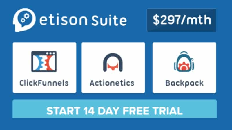 Clickfunnels Etison Suite