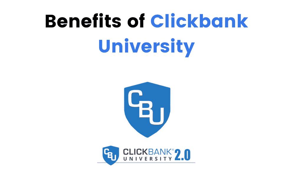 Benefits of Clickbank University