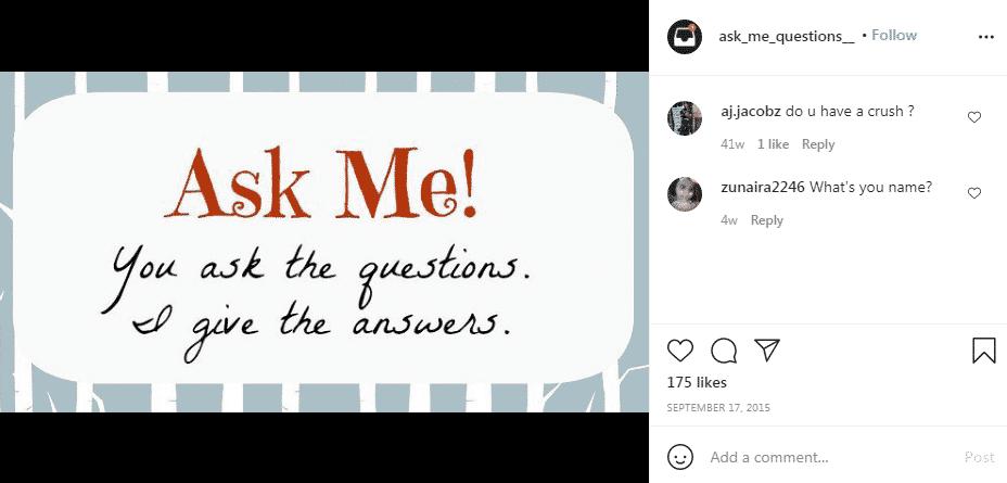 Questions Posts